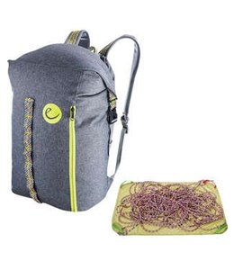 Edelrid City Hauler 30 Rope Bag Slate