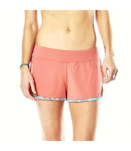 Carve Designs Women's Minna Gym Short-SUNKISS W. ST. CROIX-XL