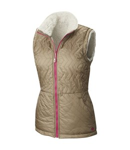 Mountain Hardwear Women's Switch Flip Vest- Khaki- L