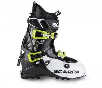 Scarpa Maestrale RS Alpine Touring Ski Boots White/Black/Lime- 2018