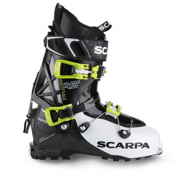 Scarpa Maestrale RS Alpine Touring Ski Boots White/Black/Lime- 2018