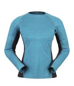 Rab Women's MeCo Long Sleeve Shirt- Aqua - XS
