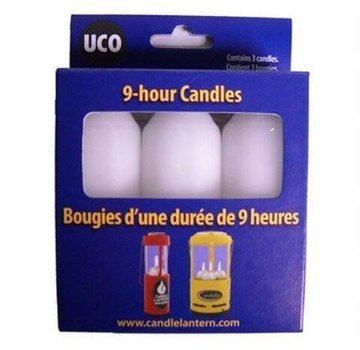 UCO 9 Hour Candles for Candle Lantern