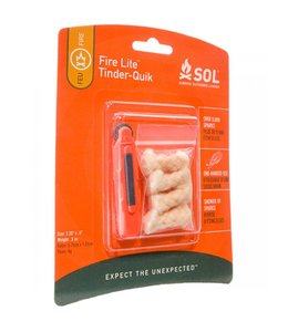 Survive Outdoors Longer SOL Fire Lite Tinder-Quik