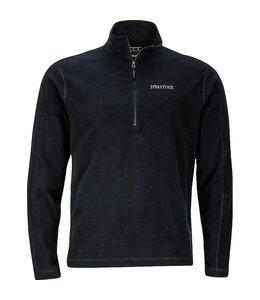 Marmot Men's Rocklin 1/2 Zip- Black- XXL