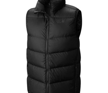 Mountain Hardwear Men's Ratio Down Vest- Black- XXL