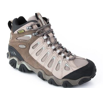 Oboz Women's Sawtooth Mid BDry Hiking Boots- Iceberg 6