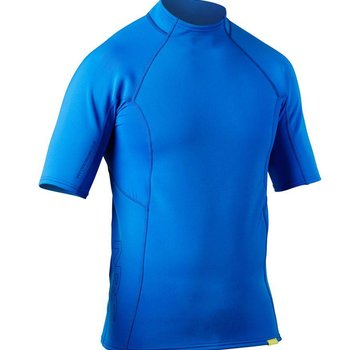 NRS Men's HydroSkin 0.5 Short Sleeve Shirt- Marine Blue - S