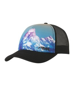 Mountain Khakis Teton Sunset Trucker Cap-Teton Print O/S