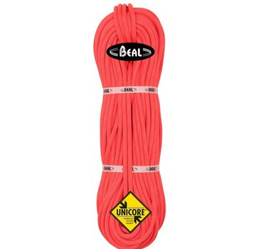 Beal Joker 9.1mm Climbing Rope - Golden Dry Orange 60m