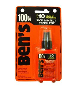 Ben's 100 Max Tick & INsect Repellent 1.25 oz. Pump