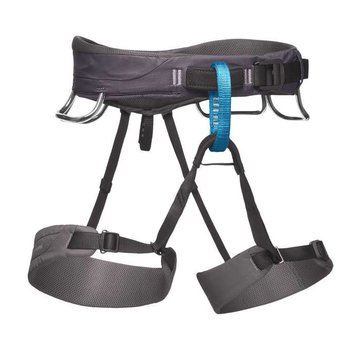 Black Diamond Men's Momentum Climbing Harness-Slate-XS