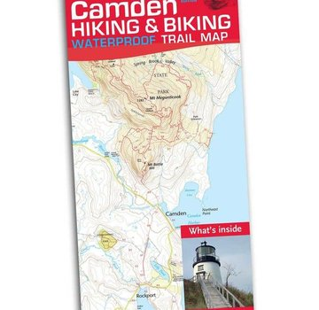 Map Adventures Camden Hiking and Biking Waterproof Trail Map 2nd Edition