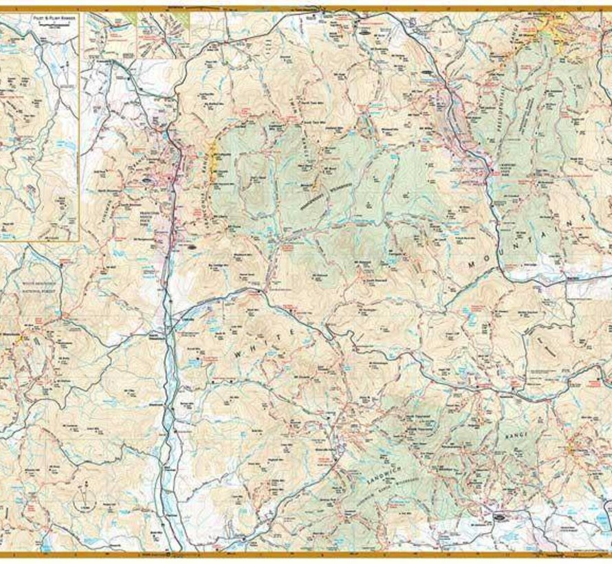 White Mountains Waterproof Trail Map - Alpenglow Adventure ...