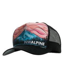 NW Alpine Mountain Nirvana Trucker Cap