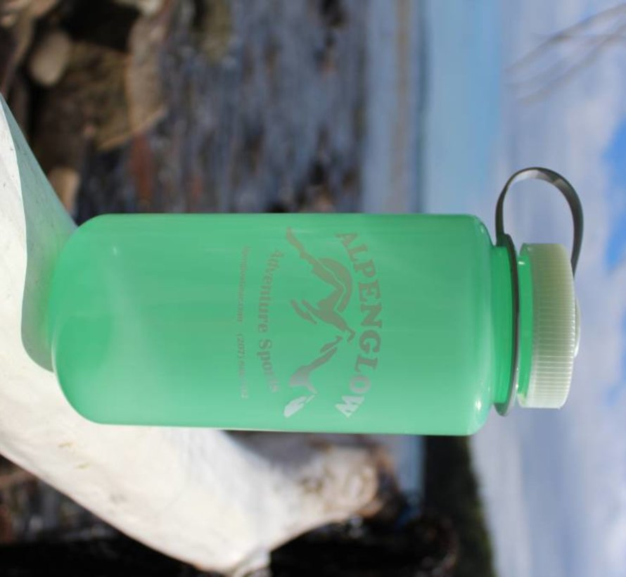 Climb More, Worry Less 1L Wide Mouth Nalgene