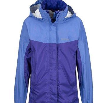 Marmot Girl's PreCip Jacket - Lilac/Electric Purple - Small