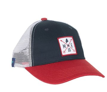 Locale Outdoors Maine Arrowhead Trucker Hat
