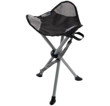 Travel Chair Slacker Stool Black