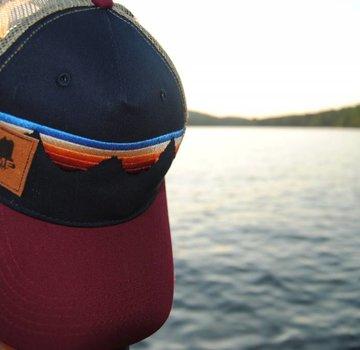 Cirque Teton Sunset Suede Maine Trucker Hat