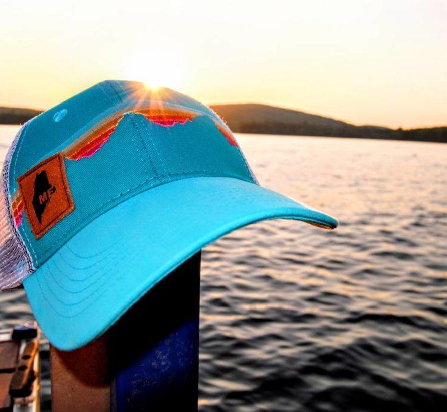 Teton Sunset Suede Maine Trucker Hat