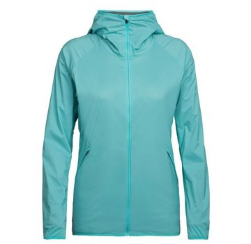Icebreaker Women's Coriolis Hooded Windbreaker- 2018