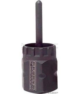 Pedro's Cassette Lockring Socket With Pin Socket Tool for HG Standard Cassette Lockrings