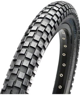 "Maxxis Maxxis Holy Roller Tire: 20 x 2.20"", Wire, 60tpi, Single Compound, Black"