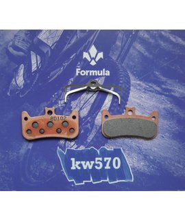 Formula Formula Italy Disc Pads, Cura-4 - Sintered/Steel