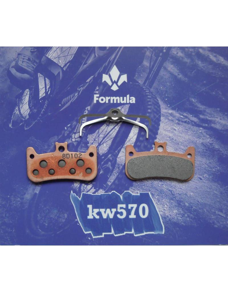 Formula Formula Italy Disc Pads, Cura-4 - Sintered/Steel