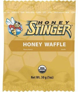 Honey Stinger Honey Stinger Organic Waffle: Honey, Box of 16 single