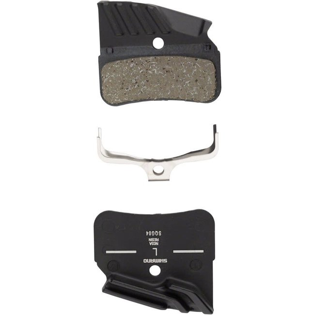 Shimano Shimano N03A Finned Resin Disc Brake Pad with Spring
