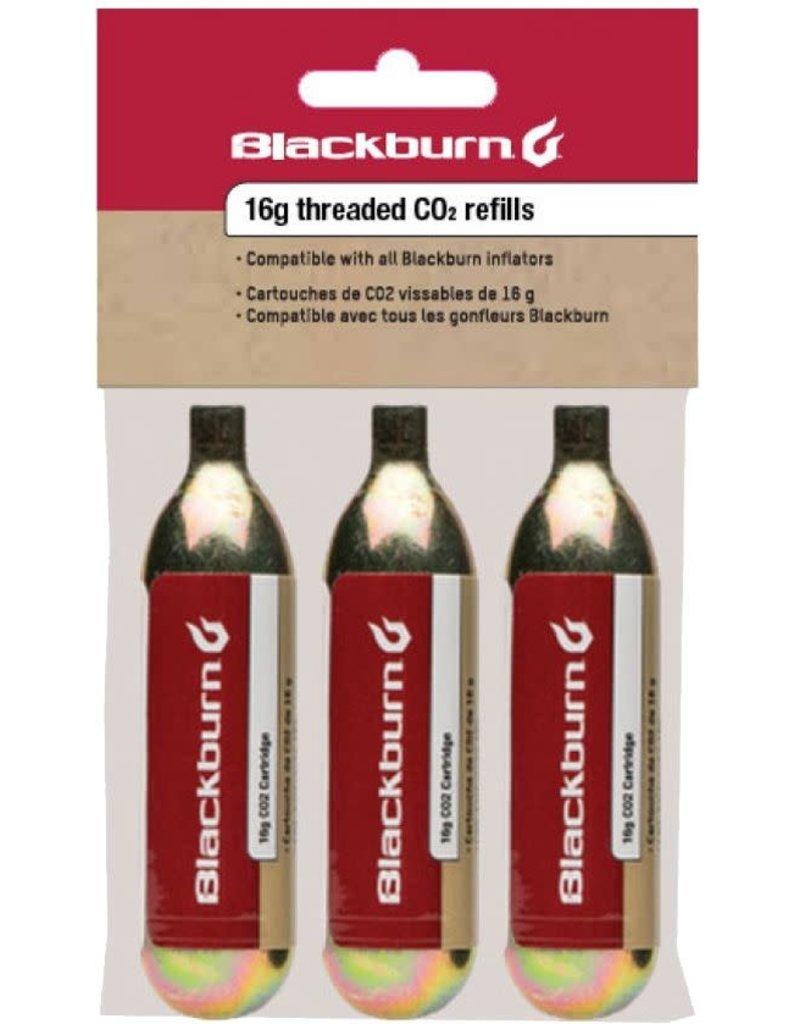 Blackburn Design Blackburn 16g Threaded CO2 3 Pack