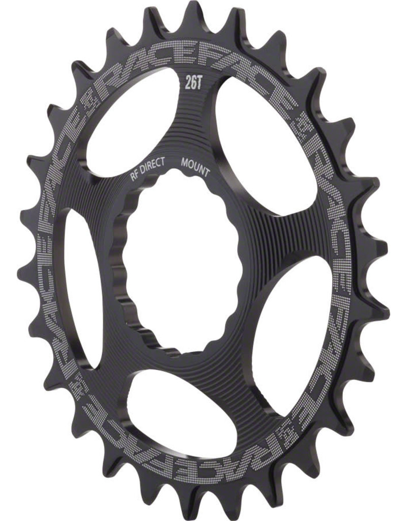 RaceFace RaceFace Narrow Wide Single Ring Cinch Black 30t