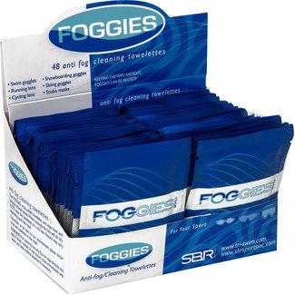 Foggies Anti-Fog Cleaning Towelettes: Single