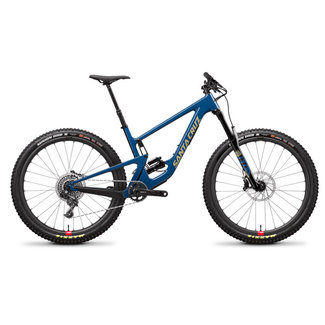 Santa Cruz Bicycles Demo Santa Cruz Hightower 2020 CC XO1 Large Blue Reserve Wheels