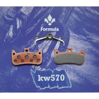Formula Italy Formula Italy Cura-4 Disc Brake Pad