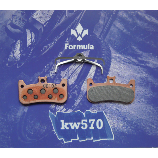 Formula Italy Cura-4 Disc Brake Pad