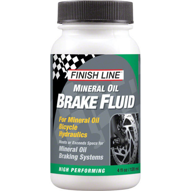 Finish Line Brake Fluid, 4oz