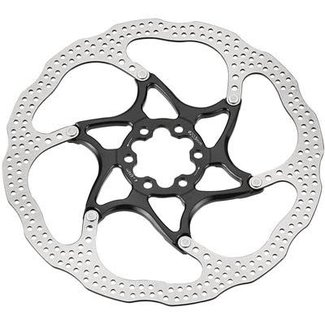 TRP 160 13 2 Piece 6 Bolt Disc Brake Rotor Black