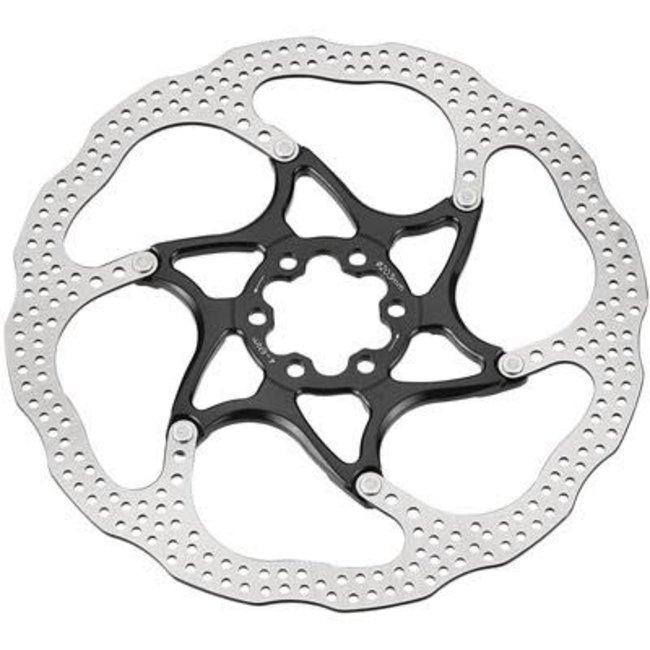 TRP TRP 160 13 2 Piece 6 Bolt Disc Brake Rotor Black