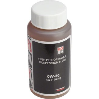 RockShox RockShox Suspension Oil, 0W-30, 120ml Bottle, Pike/Lyrik B1/Yari Lower Legs
