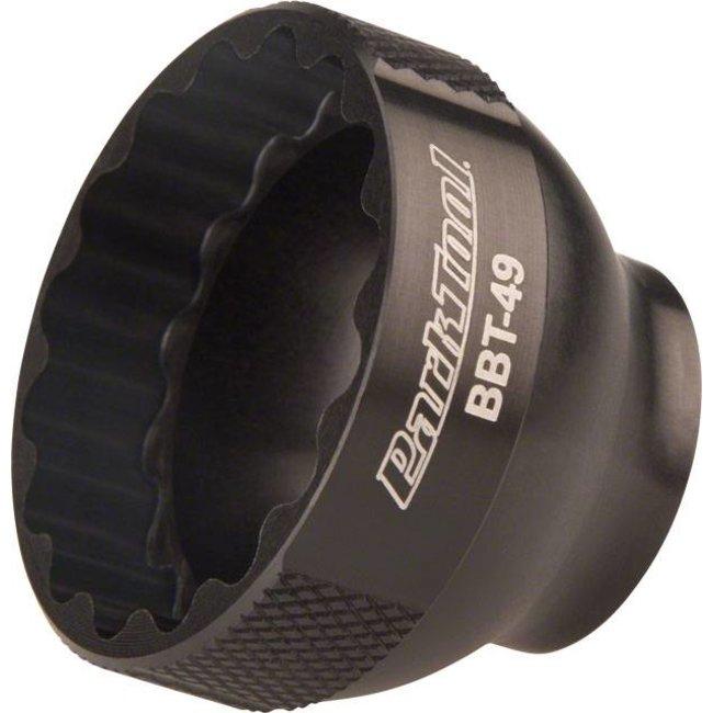 "Park Tool BBT-49 16 Notch 39mm Bottom Bracket Tool 3/8"" Drive, Black"