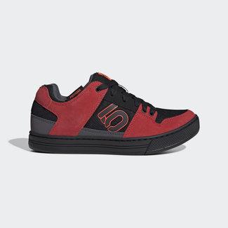 Five Ten Five Ten Men's Freerider Flat Pedal Shoe Black & Solar Red