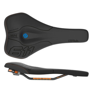 SQlab SQlab 611 Ergowave Active S-Tube Rail 130* Saddle, Blk