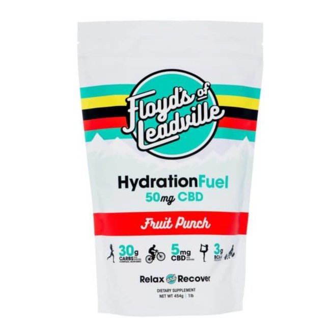 Floyd's of Leadville Hydration Fuel Drink Mix Fruit Punch