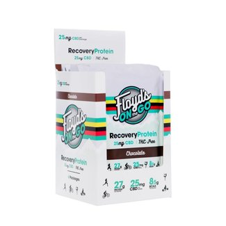 Floyd's of Leadville Floyd's of Leadville Recovery Protein Chocolate, Carton of 6 Single Serve 25mg