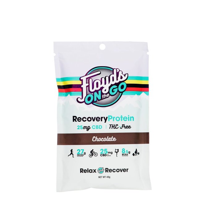 Floyd's of Leadville CBD Isolate Recovery Protein, 25mg CBD