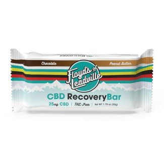 Floyd's of Leadville Floyd's of Leadville Recovery Bars 25mg Chocolate/Peanut Butter