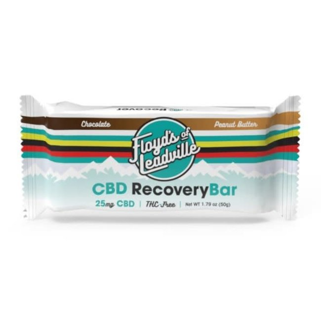 Floyd's of Leadville Recovery Bars 25mg Chocolate/Peanut Butter